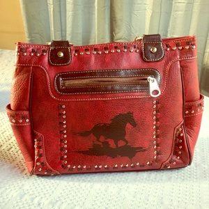 Horse western purse